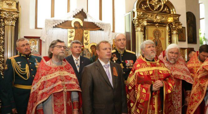 В Керчь привезли икону «Спас Нерукотворный»