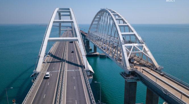 Крымский мост: 5 млн машин за первый год работы