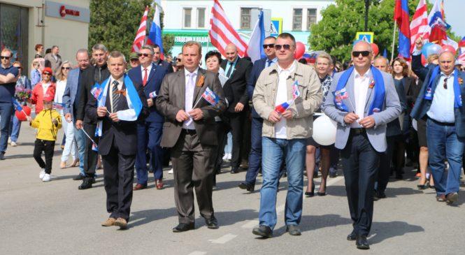 Керчь отмечает праздник Весны и Труда