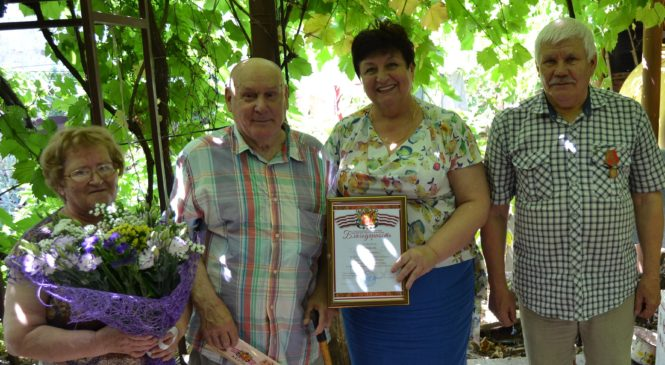 80-летний юбилей отметил Борис Иванович ГОЛОВАНЬ