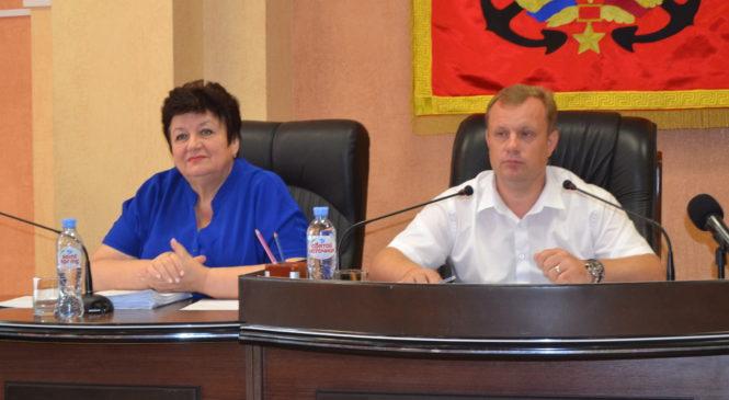 В Керченском городском совете прошла очередная 117 сессия