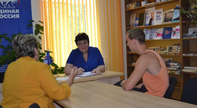 Ольга СОЛОДИЛОВА провела прием граждан по личным вопросам