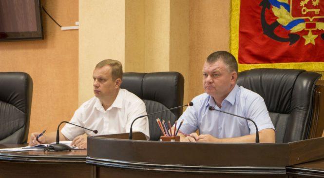 Глава муниципального образования принял участие в расширенном аппаратном совещании в администрации города