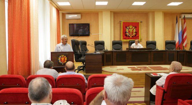 В Керчи прошло заседание межнационального совета