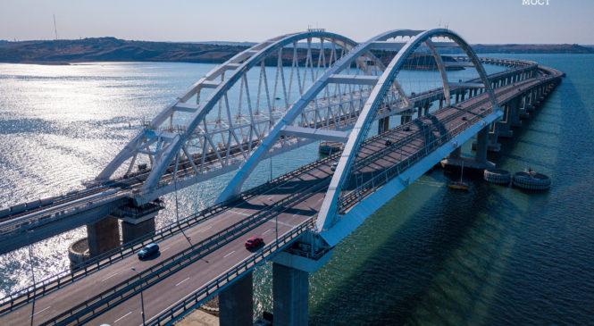 Более 1 млн автомобилей проехало по Крымскому мосту  с начала лета