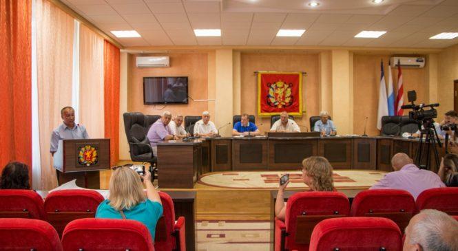 На заседании общественного совета рассмотрели проект противооползневых мероприятий в Аршинцево