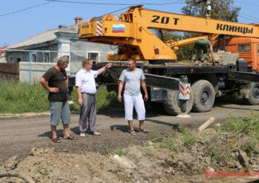 Продолжаются работы на улице Бодни