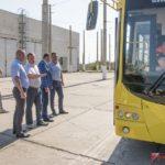 4 новых троллейбуса пополнили парк «Керчьгортранс»