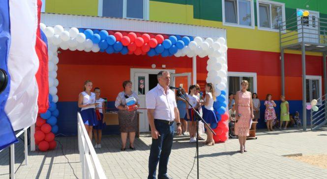 Спикер Госсовета Крыма открыл новый модульный детский сад в Керчи