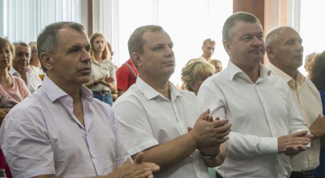 Председатель Госсовета РК Владимир КОНСТАНТИНОВ встретился с коллективом завода «Залив»