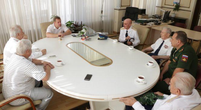 Глава муниципального образования встретился с ветеранами Багеровского полигона № 71