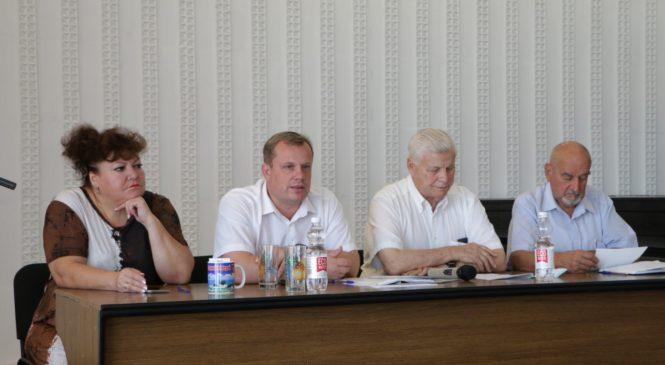Глава муниципального образования принял участие в пленуме ветеранской организации