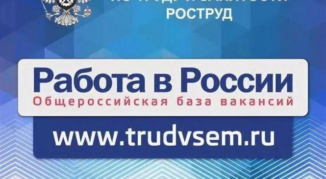 Приглашаем керчан посетить портал «Работа в России»