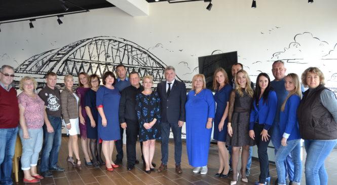 В Керчи чествовали представителей туристической сферы