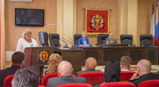 В Керчи прошла 2 сессия городского совета 2 созыва