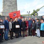 Керчане отметили 75-летний юбилей создания Обелиска славы
