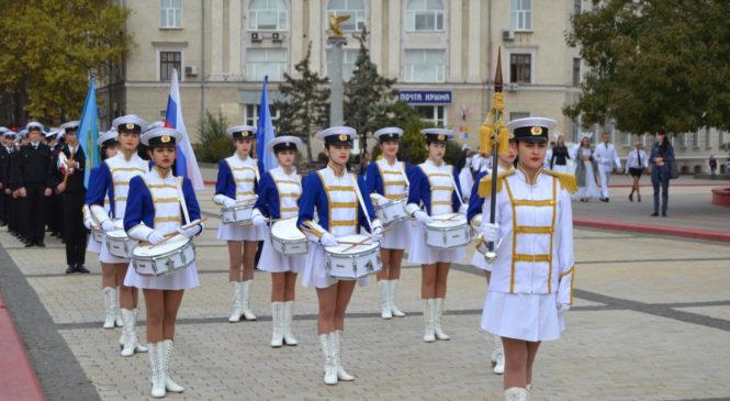 В Керчи прошло посвящение в курсанты КГМТУ — 2019