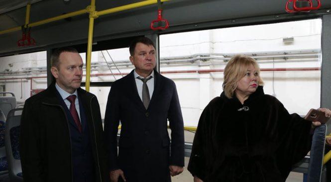 Председатель профильного комитета Леонид БАБАШОВ посетил МУП «Керчьгортранс»