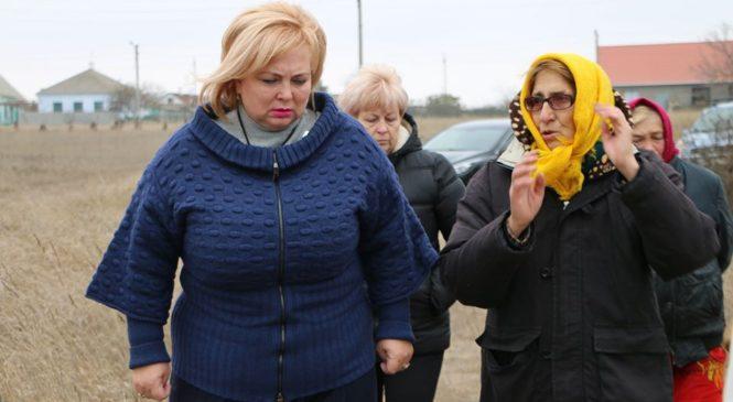 Глава муниципального образования встретилась с представителями ТОС «Эльтиген»