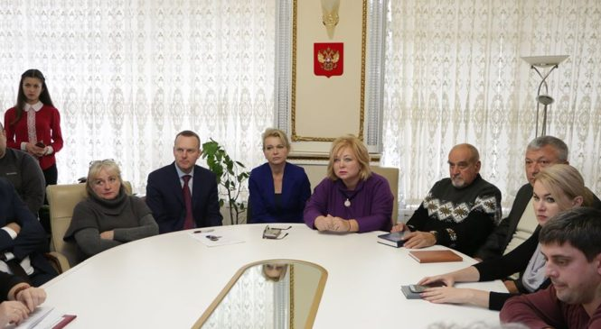 В горсовете прошло совещание по вопросу объединения МУП города «Керченский комбинат благоустройства» и «ЖилСервисКерчь»
