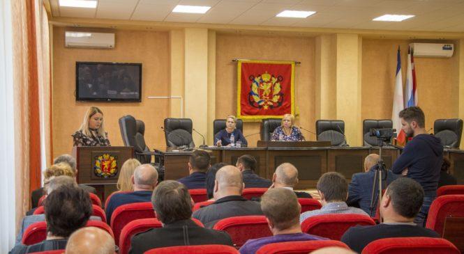 В Керчи состоялась 7-я сессия Керченского городского совета