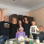 Депутат горсовета Елена ДЕГТЯРЕВА поздравила ветерана Надежду ФАСТОВИЧ с 90-летием