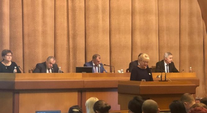 Руководство Керченского городского совета принимает участие в парламентских слушаниях бюджета Республики Крым на 2020-2022 годы