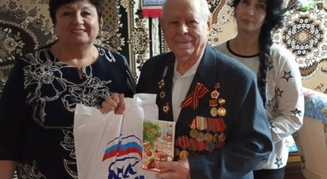 Ольга СОЛОДИЛОВА поздравила ветеранов с наступающим Новым годом