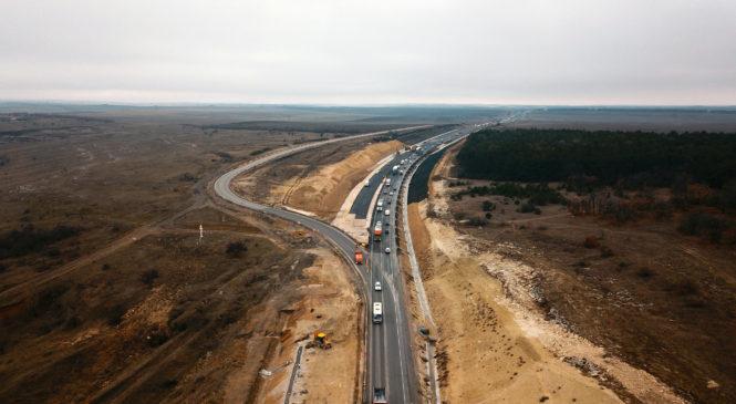Компания «ВАД» запустила движение транспорта над пещерой в районе Зуи