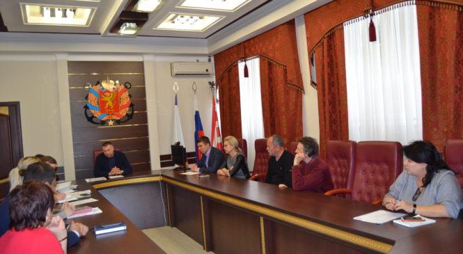 В Керчи заседала комиссия по установке памятных знаков на территории города