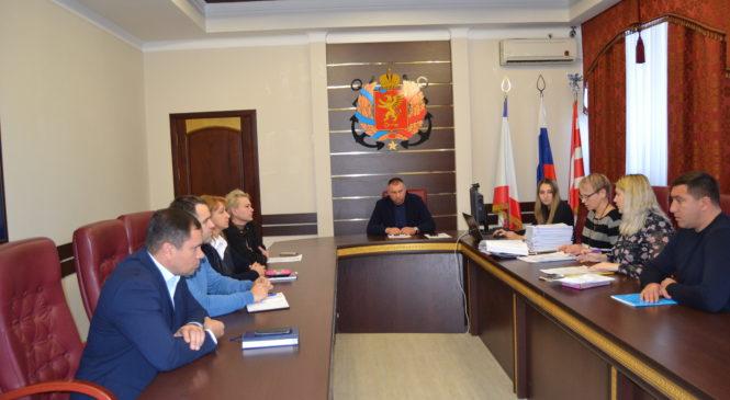 В Керчи заседала комиссия по рассмотрению отчетов об оценке имущества, находящегося в собственности МОГОК РК