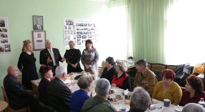 Руководство горсовета провело встречу с ветеранским активом
