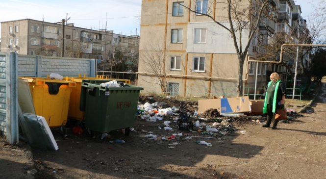 Глава муниципального образования выехала по жалобе о мусоре в районе «7 ветров»