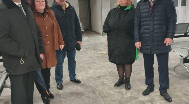 Глава муниципального образования Мая ХУЖИНА осмотрела ход строительства станции «Керчь-Южная»
