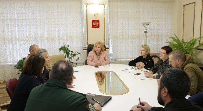 Мая ХУЖИНА провела встречу с поисковиками