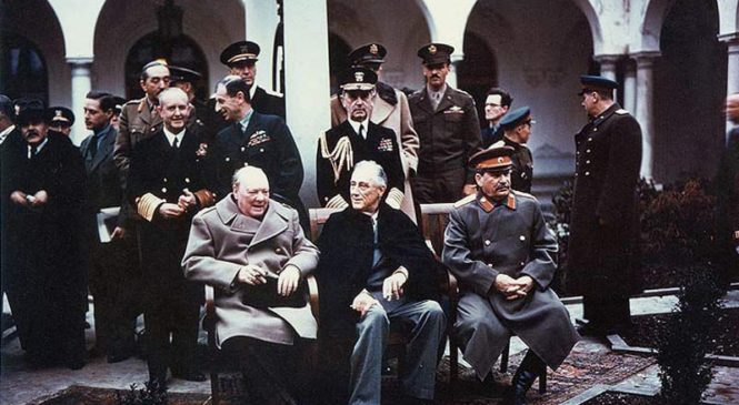 Годовщина Ялтинской конференции глав государств — союзников по антигитлеровской коалиции 1945 года