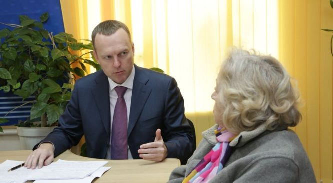 Депутат Государственной Думы Российской Федерации Константин БАХАРЕВ провел прием граждан по личным вопросам