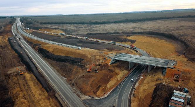 На «Тавриде» начинается строительство съезда к селу Донское