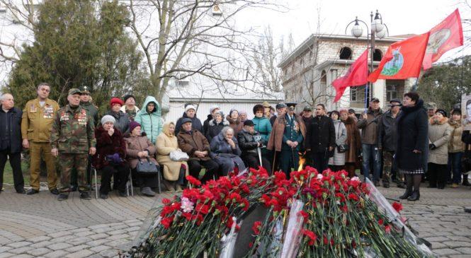 В Керчи отметили 31-ю годовщину вывода войск из Афганистана