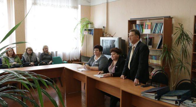Ольга СОЛОДИЛОВА провела встречу с родительским комитетом школы №26