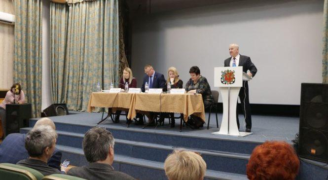 В керчи прошло заседание Аршинцевского территориального совета