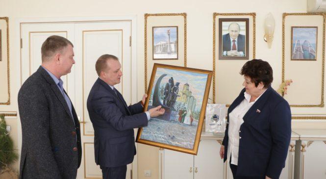В Керчи с рабочим визитом находится глава администрации города Макеевки ДНР