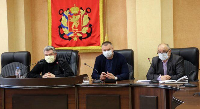 В Керчи состоялось заседание керченского городского штаба по профилактике, предупреждению и локализации возможных негативных последствий коронавирусной инфекции
