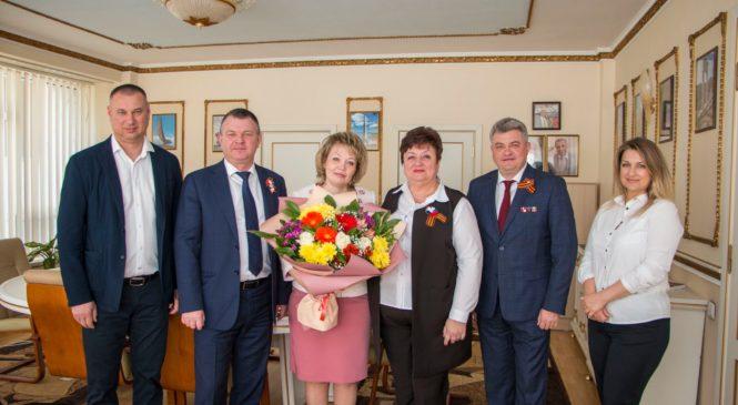 Председателя комиссии по делам несовершеннолетних Ирину ИВАНОВУ поздравили с юбилеем