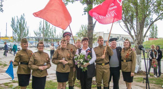 С Днем Победы руководство города и военные поздравили ветерана Николая ШТЫРКОВА