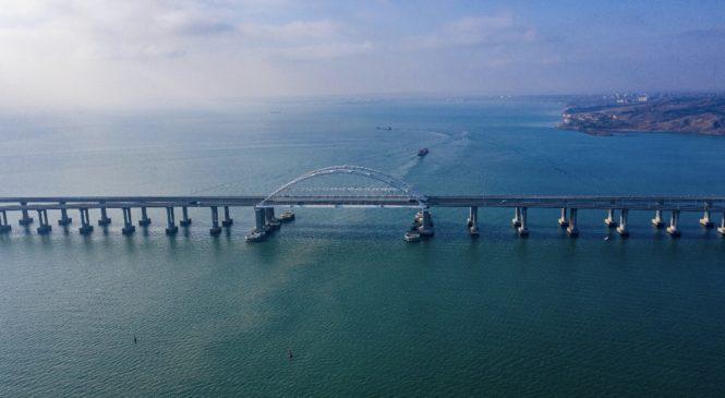 30 июня на Крымском мосту откроется грузовое железнодорожное движение