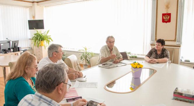 В Керченском горсовете прошло очередное заседание Комитета городов-героев