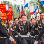 Керченскими улицами прошел Парад Победы