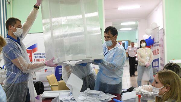 Ольга СОЛОДИЛОВА: 85% избирателей Керчи пришли на участки для голосования