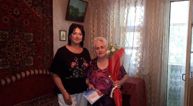 Ветеран ВОВ Мария СЛИПЧЕНКО отпраздновала 90-летний юбилей